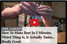 Pats Backcountry Beer - Make beer in 5 minutes